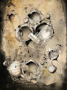 Quarantena series by Robert Scott Gilson