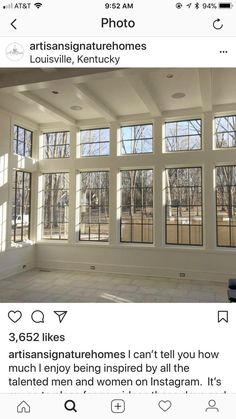 Give me all of the windows. Sunroom www.lightfortysix… www.lightfortysix… Give me all of the windows. Sunroom www.lightfortysix… www. Future House, My House, Four Seasons Room, 4 Season Room, Sunroom Addition, Family Room Addition, Room Additions, Windows And Doors, Wall Of Windows