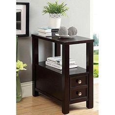 brooklyn 1 drawer espresso brown nightstand brooklyn brown