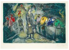 "VTG Marc Chagall Art Print PORTRAIT PAINTING 8.5/"" x 11/"" ** SEE VARIETY"