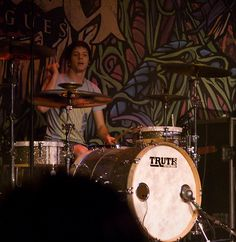 Great Drumset, drummer, and band. Daniel williams. The Devil Wears Prada.