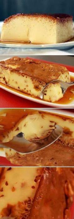 ⭐Leche asada Si tienes huevos y leche prepara este delicioso postre en solo unos minutos🌟