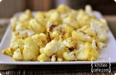 Curried Baked Cauliflower