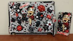 Betty Boop iPad Air Case with Smart Cover and iPhone 4 Case-Reserved for Pat Bell .   AND  I LOVE IT!!!!!!!