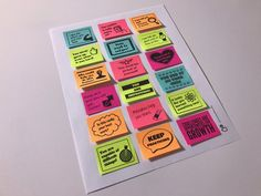 Ideas School Organization College Printables Sticky Notes For 2019 Custom Sticky Notes, Personalized Sticky Notes, Transition Words And Phrases, Editing Marks, Planners, Goals Template, Text To Text Connections, College Organization, Notes Design