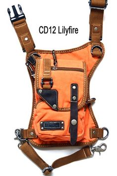 U Koala Bag- - Motorcycle Bag, Hiking Bag, Activity Bag, Hip Bag, Fanny Pack, Shoulder Bag, Leg Bag, Waist Bag, Messenger Bag, Thigh Bag, Holster Bag, Eco-friendly Bag, a Bag You Must Have. (LilyFire Denim Orange) U Koala http://www.amazon.com/dp/B00JSB7BLI/ref=cm_sw_r_pi_dp_4MK9tb0ND0MHR