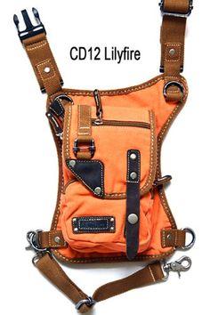 U Koala Bag- - Motorcycle Bag, Hiking Bag, Activity Bag, Hip Bag, Fanny Pack, Shoulder Bag, Leg Bag, Waist Bag, Messenger Bag, Thigh Bag, Holster Bag, Eco-friendly Bag, a Bag You Must Have. (LilyFire Denim Orange) U Koala http://www.amazon.com/dp/B00JSB7BLI/ref=cm_sw_r_pi_dp_4MK9tb0ND0MHR