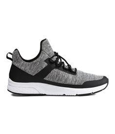 Sneakers   Black/gray melange   Men   H&M US