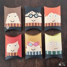 Gift the (small) projects you make for your friends in these free printable pillow boxes.
