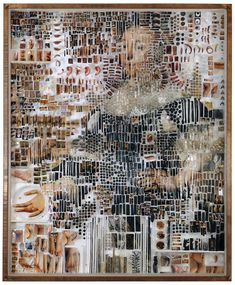 The Peculiar Fragmented Portraiture of Michael Mapes   Yatzer