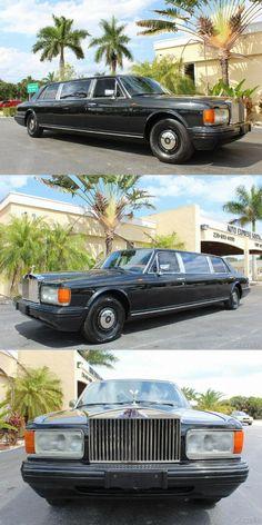 Rolls Royce Silver Spur, Rolls Royce Limousine, Limousine Car, Fort Myers, Exterior Colors, Colorful Interiors, Automobile, Pictures, Ali