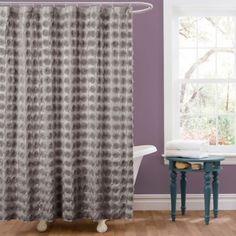 emma shower curtain ivory