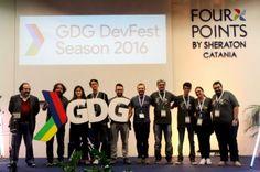 Tutti i #GoogleDeveloperGroup della #Sicilia (#Gela #Catania , #Palermo, #Nebrodi) hanno organizzato insieme ai #GDG Calabresi una due giorni ricca di #contenuti ed #aggiornamenti. #festa #google #catania #community