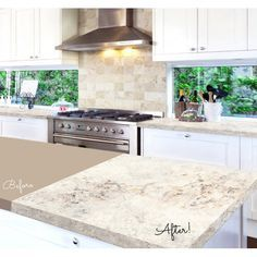 Giani™ 'Sicilian Sand' Countertop Paint Kit – Easy & affordable DIY countertop makeover kit! Transform your existing countertops to look like natural stone.