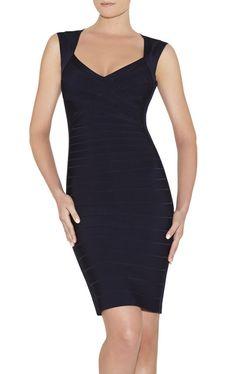 Sarai Signature Essentials Bandage Dress