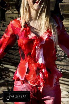 Roberto Cavalli floreal silk shirt
