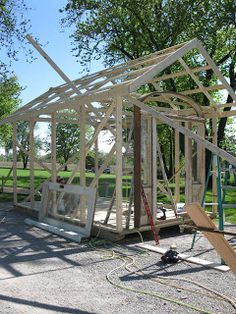 sisters garden: A Glass House is Born...