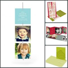 Pear Tree Greetings. Cute idea for Xmas card - ornamental hanging cards