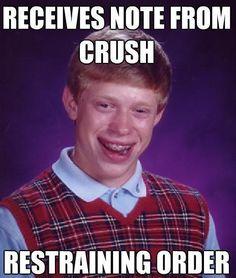 Bad Luck Brian Memes