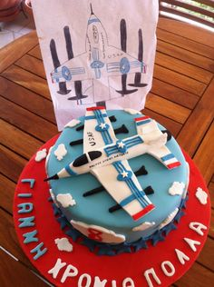 cross between an F15 and F16 cake
