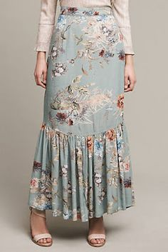 Industrious Lularoe Maxi Skirt Size Large L Nwt Blue/green Clothing, Shoes & Accessories