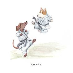 K is for Karate.  maria.christania