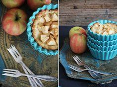 #Muerbteig #Apfelkuchen |  Zutaten    Für den Teig  50g Zucker  150g Mehl  75g kalte Butter :)  1 Eigelb  2-3EL Milch  1 Prise Zimt    2-3 Äpfel