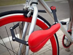 Seatylock is a clever new bicycle seat that detaches from the bike frame to serve as a lock, preventing theft of both the bike and seat itself, so the rider doesn't have to carry a standalone lock....