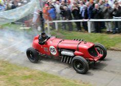 1933 - Napier Bentley Special Light en el Brooklands Double Twelve.
