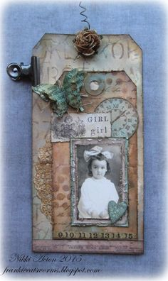 Addicted to Art: Use a Portrait at A Vintage Journey