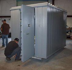 Modular Vault and safe room