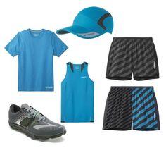 "Brooks Men's Race Day Outfit | EZ T III | Rev Singlet III | Sherpa IV 5"" Short | HVAC Hat | Fleet Feet Sports - Chicago"