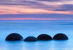 Moeraki boulders, las extrañas esferas. Matemolivares