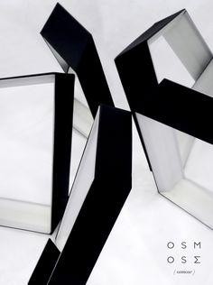 OSMOSE Par Valentine Goulard Promo 2015  Luminaire  #ecolebleue #ecolebleueglobaldesign #designglobal #globaldesign #design #designer #youngdesigner #jeunedesigner  #lampe #light #luminaire #blackandwhite