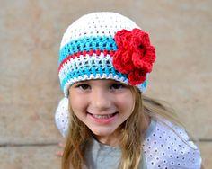 baby girl hat baby hat crochet baby hat por VioletandSassafras Sombreros De  Niñas 811a10d2f01