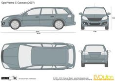 Opel Vectra C Caravan Transportation, Classic Cars, Layout, Boat, Trucks, 3d, How To Plan, Drawing, Vehicles