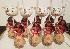 Moana cake pops#puacakepops#pigcakepops