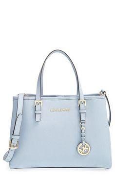Michael Kors Dillon saffiano leather satchel handbag