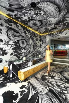 Vincent-Coste-Designs-Japanese-Restaurant-With-Tattoos-1 Vincent-Coste-Designs-Japanese-Restaurant-With-Tattoos-1