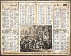 Almanach des Postes 1870