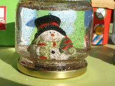 καρυδότσουφλο : Φτιάχνουμε χιονόμπαλες!!