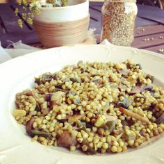 trigo sarraceno con setas