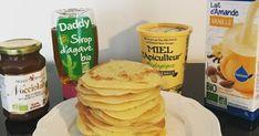 Pancakes légers au lait d'amande healthy