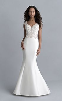 Wedding Dresses & Gowns | Disney's Fairy Tale Weddings & Honeymoons Bridal Gowns, Wedding Gowns, Jasmine Bridal, Fit And Flare Wedding Dress, Wedding Honeymoons, Princess Wedding Dresses, Princess Bridal, Allure Bridals, Bodice