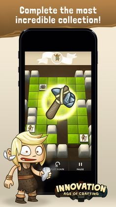 Innovation Age Of Crafting - Mix Match Puzzle Game by Pollop Studio