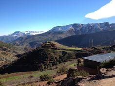 Morocco, Atlas mountains.