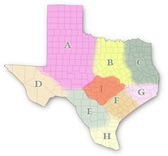 Plant a garden with your kids! Texas Garden Veggie Variety Selector Map by Texas A & M Agrilife Extension - choose which Texas county or region you reside in on this map and it gives automatically gives you recommended variety of all the veggies and # of days to harvest for your county or region - awesome