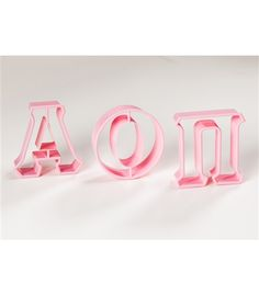 Greek Letter Cookie Cutters www.sassysoroity.com