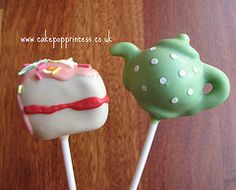 tea pot cake pops