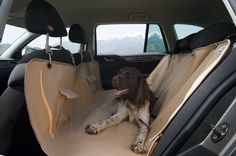 Pet Seat Cover, Waterproof Hammock for cars, New & Improved D 600 oxford fabric